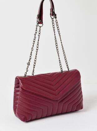 Maroon - Clutch Bags / Handbags - MOON