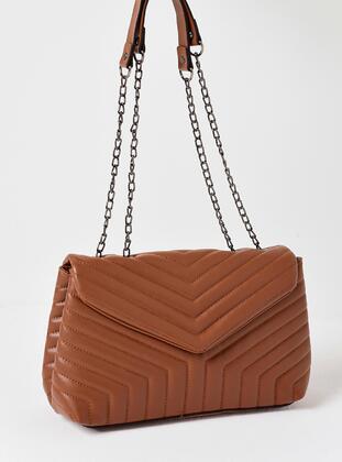 Tan - Clutch Bags / Handbags - MOON