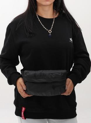Black - Crossbody - Satchel - Bum Bag
