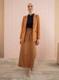 Camel -  - Skirt