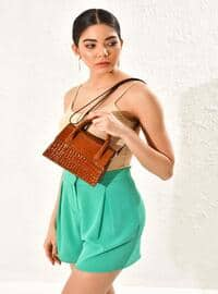 Tan - Clutch Bags / Handbags