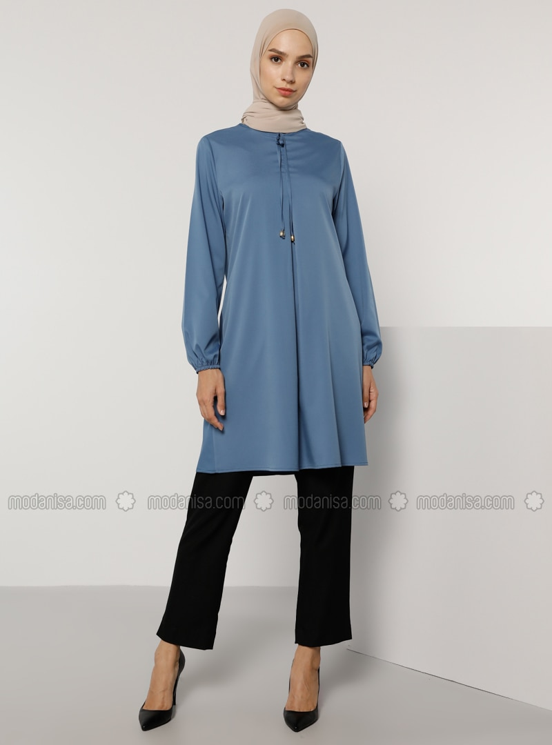 Indigo - Crew neck - Tunic