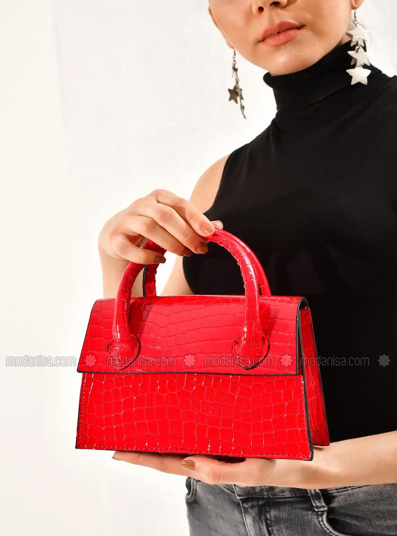 Red - Clutch Bags / Handbags