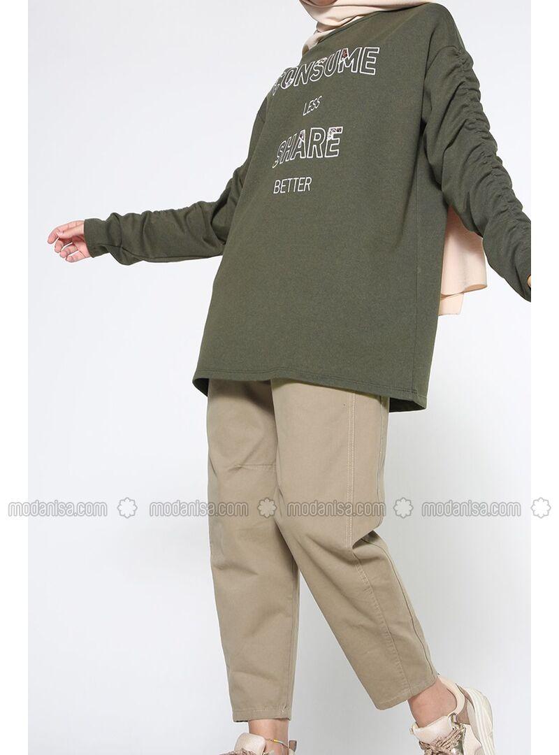 Khaki - Tunic - Allday