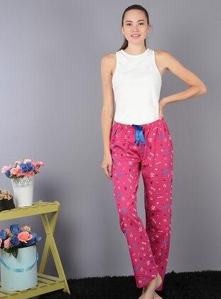 Fuchsia -  - Pyjama - AKBENİZ