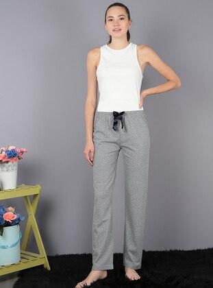 Gray -  - Pyjama - AKBENİZ