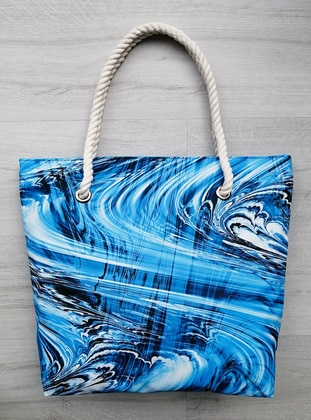 Satchel - Waterproof - Blue - Beach Bags