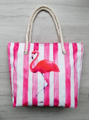 Satchel - Waterproof - Pink - Beach Bags