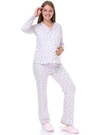 Multi - Pink - Multi -  - Maternity Pyjamas