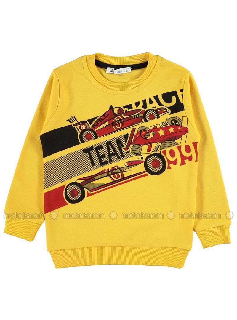 Mustard - Boys` Sweatshirt