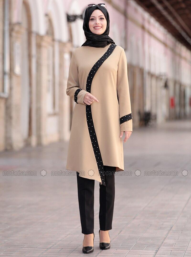 Mink - Unlined - Crepe - Suit