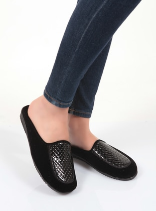Sandal - Black - Home Shoes