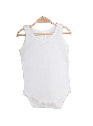 Cream - baby bodysuits - Breeze Girls&Boys
