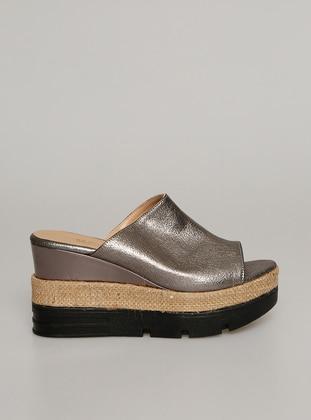 Gray - Sandal - Slippers