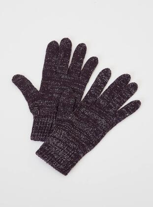 Purple - Glove - DeFacto