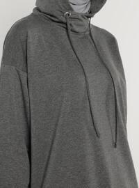 Anthracite - Cotton - Sweat-shirt
