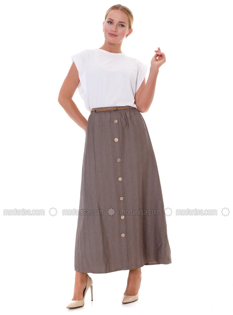Mink - Unlined -  - Skirt