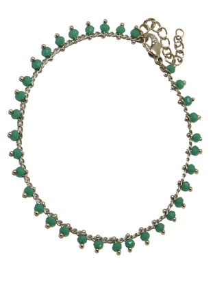 Silver tone - Anklet