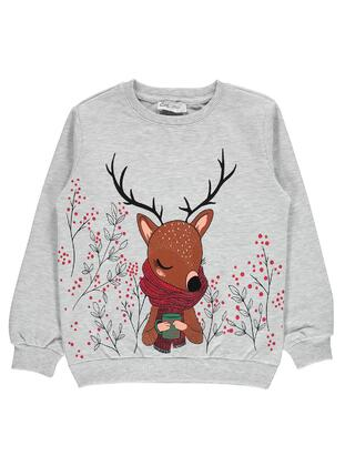 Multi - Girls` Sweatshirt