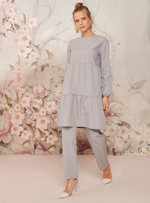 Gray - Gray - Unlined - Cotton - Gray - Unlined - Cotton - Gray - Unlined - Cotton - Gray - Unlined - Cotton - Suit