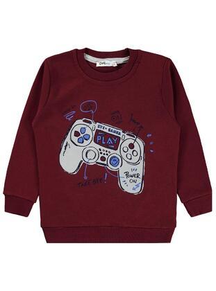 Maroon - Boys` Sweatshirt - Civil
