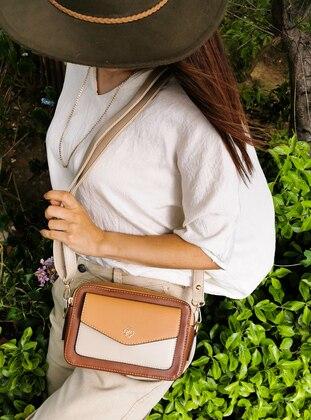 Camel - Tan - Satchel - Shoulder Bags