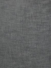 White - Black - Printed - Scarf