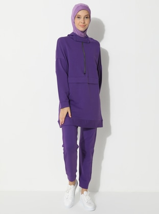 Purple -  - Tracksuit Set