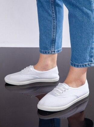 White - White - White - Sport - Sports Shoes