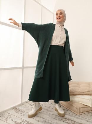 Emerald - Acrylic - - Cardigan