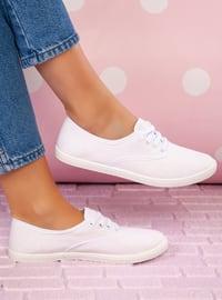 White - White - Sport - Sports Shoes