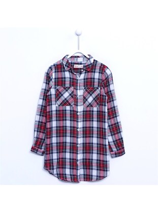 Red - Girls` Shirt - Silversun
