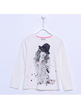 Ecru - Girls` T-Shirt - Silversun