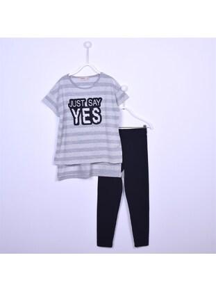 Black - Girl Suit - Silversun