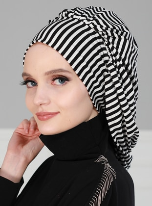 Black - Simple -  - Bonnet