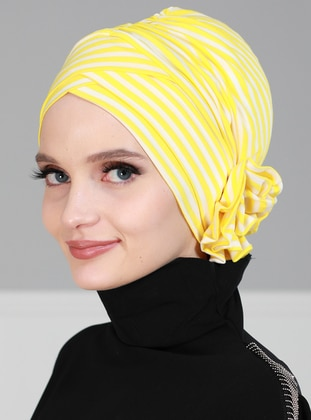 Yellow - Simple -  - Bonnet