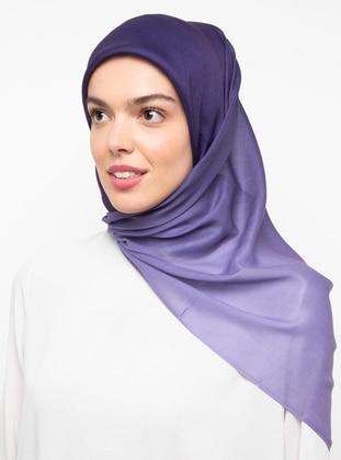 Purple - Plain -  - Scarf