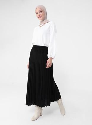 Black - Unlined - - Skirt