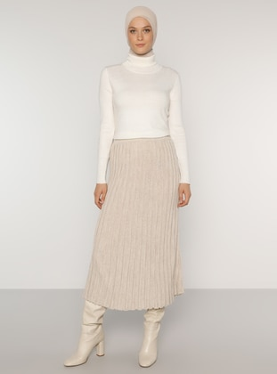 Mink - Unlined -  - Skirt