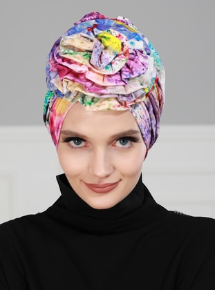 Multi - Simple -  - Combed Cotton - Bonnet