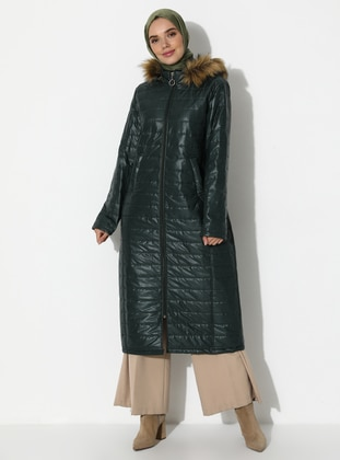 Green - Fully Lined - Coat