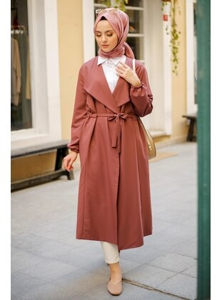 Dusty Rose - Trench Coat