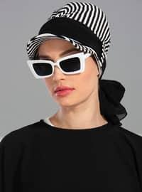 Black - Plain - Simple - - Bonnet