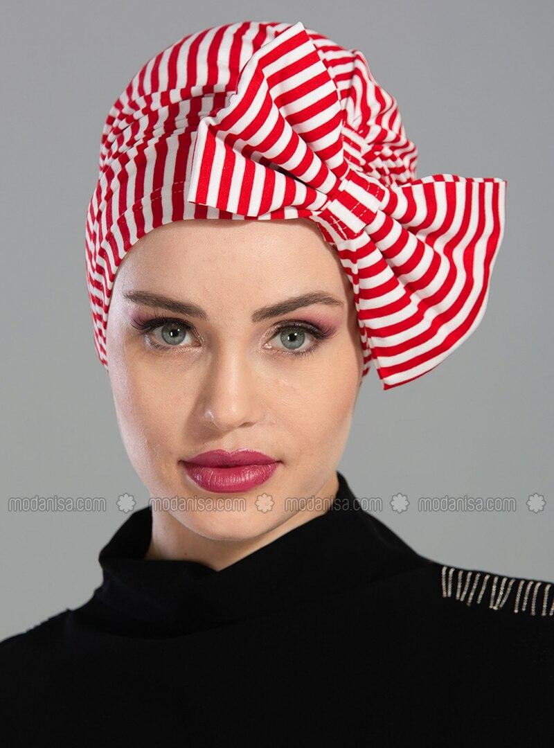Red - Plain - Simple -  - Bonnet