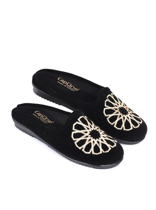 Sandal - Black - Home Shoes - CapOne Outfitters