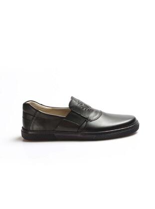 Black - Boys` Shoes - Fast Step