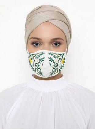 - Ecru - Mask