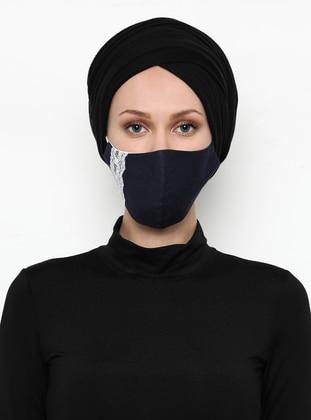 - Navy Blue - Mask