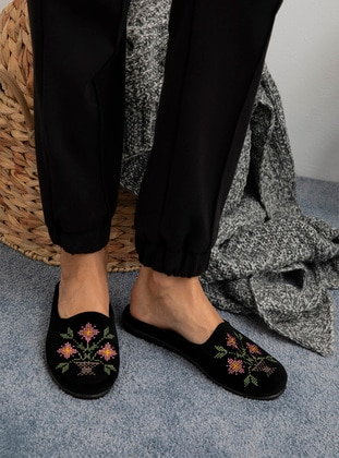 Multi - Sandal - Black - Home Shoes