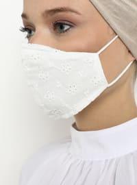 - White - Mask